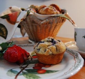 blueberry-lemon-muffins